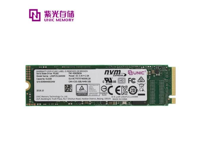 紫光推出高性能SSD P5160,随机写入速度为350K IOPS