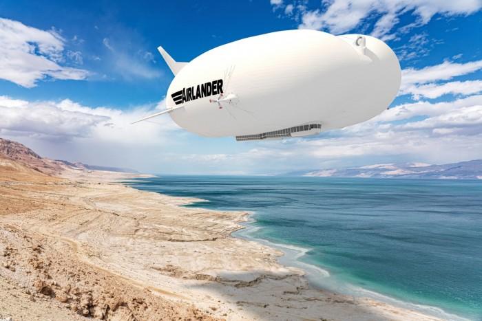 """""""飞天屁股""""Airlander 10量产版公布:更光滑、更高效节能 操作成本更少"""