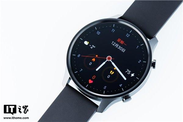 小米手表Color现已推送V1.2.220固件更新