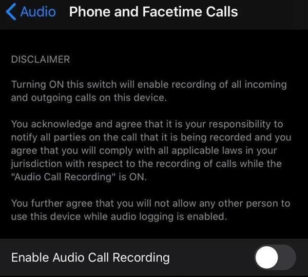 终于等到:苹果iOS 14被曝将增用户期待已久的通话录音功能