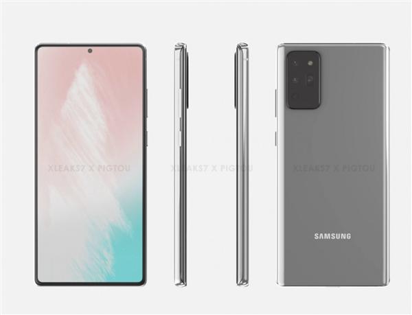 爆料称三星Galaxy Note 20将抛弃曲面屏,改为直屏设计