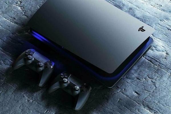 饭制PS5黑色版主机渲染图 网友:顺眼多了
