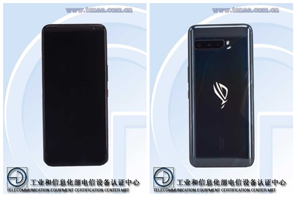 华硕ROG游戏手机3素颜照揭晓:骁龙865+6000mAh 重达240g