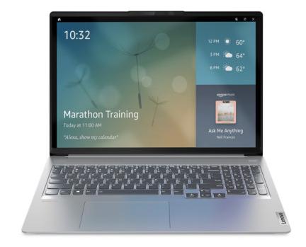 亚马逊智慧屏保功能将登录联想电脑 用户可通过语音助手进行交互